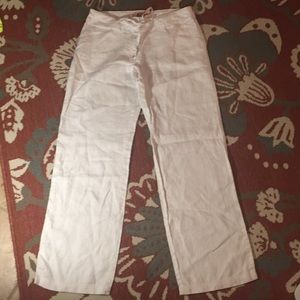 Gorgeous tommy bahama linen relaxed fit pants
